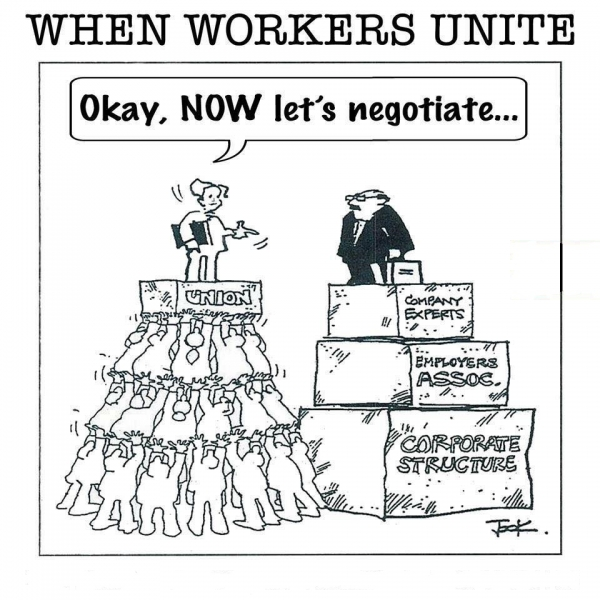 union negotiate