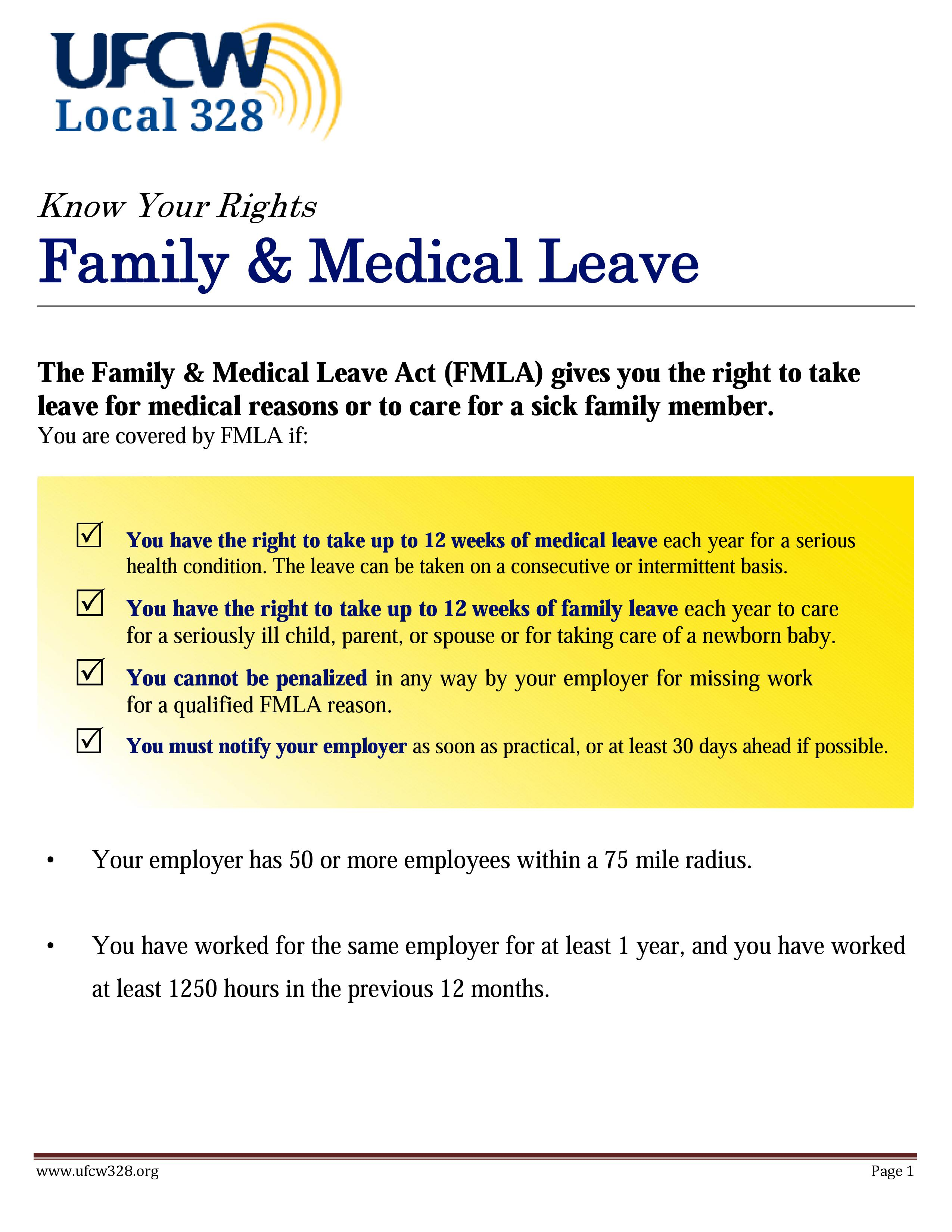 UFCW Local 328 » Health and Welfare / Leaves & Unemployment