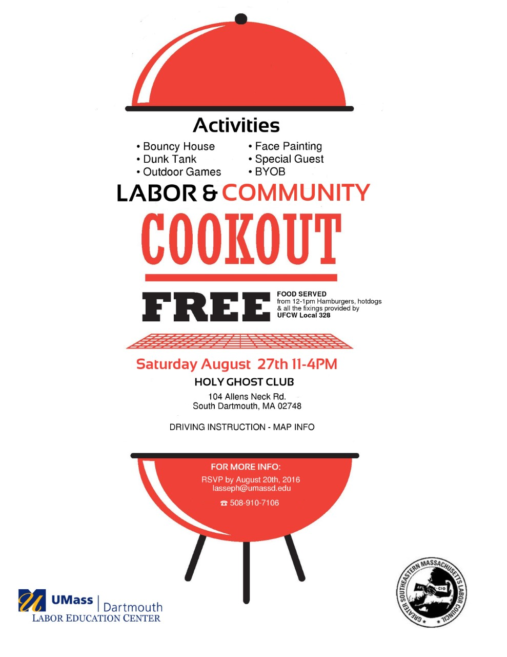 labor and community cookout