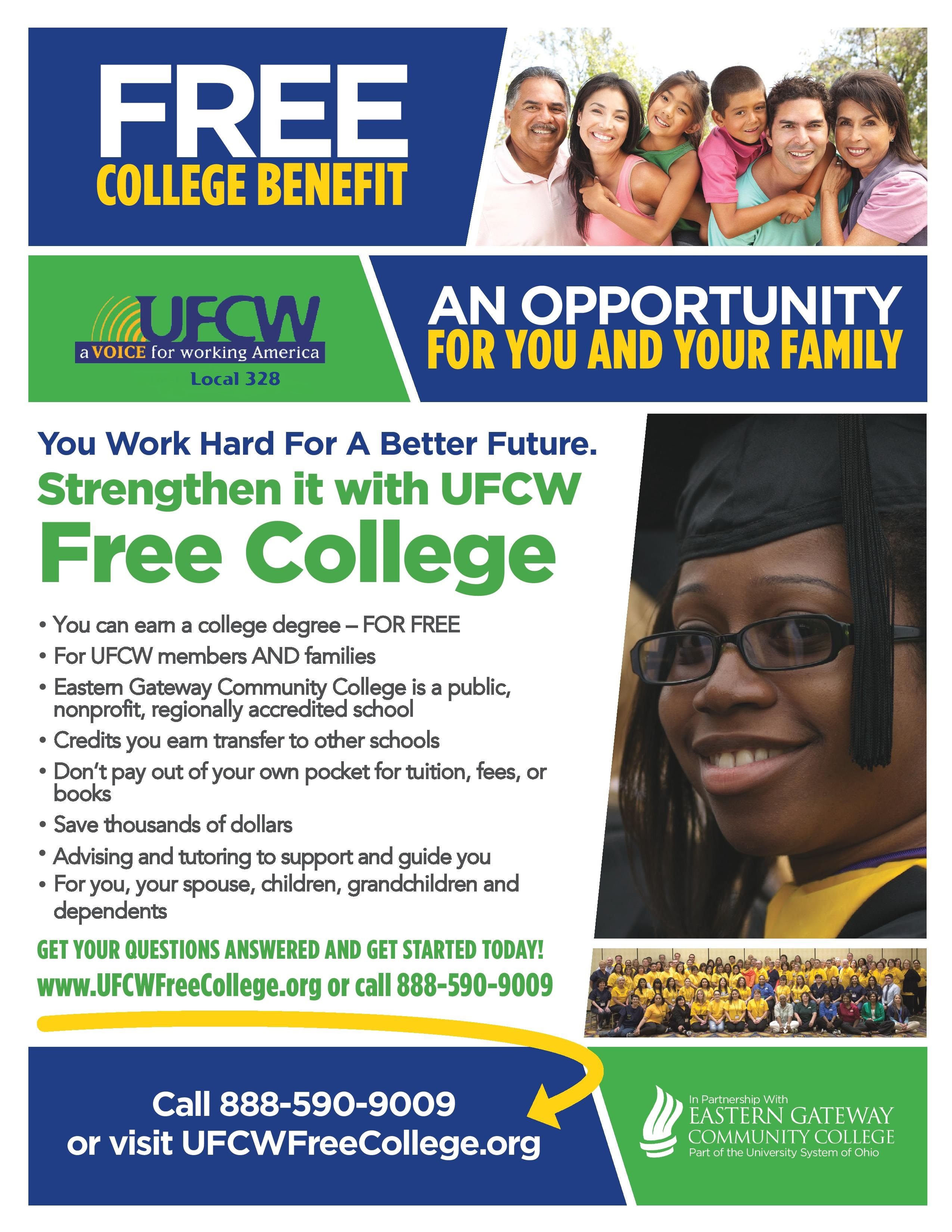 ufcw free college flyer