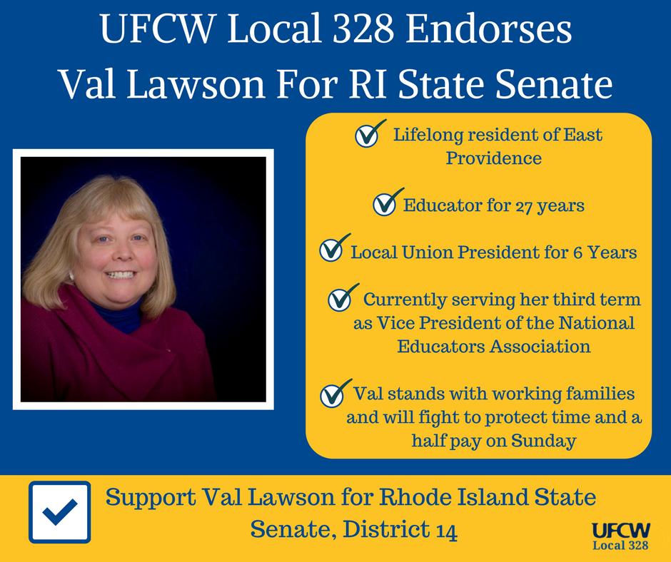 UFCW Local 328 Endorses Val Lawson For Senate (3)